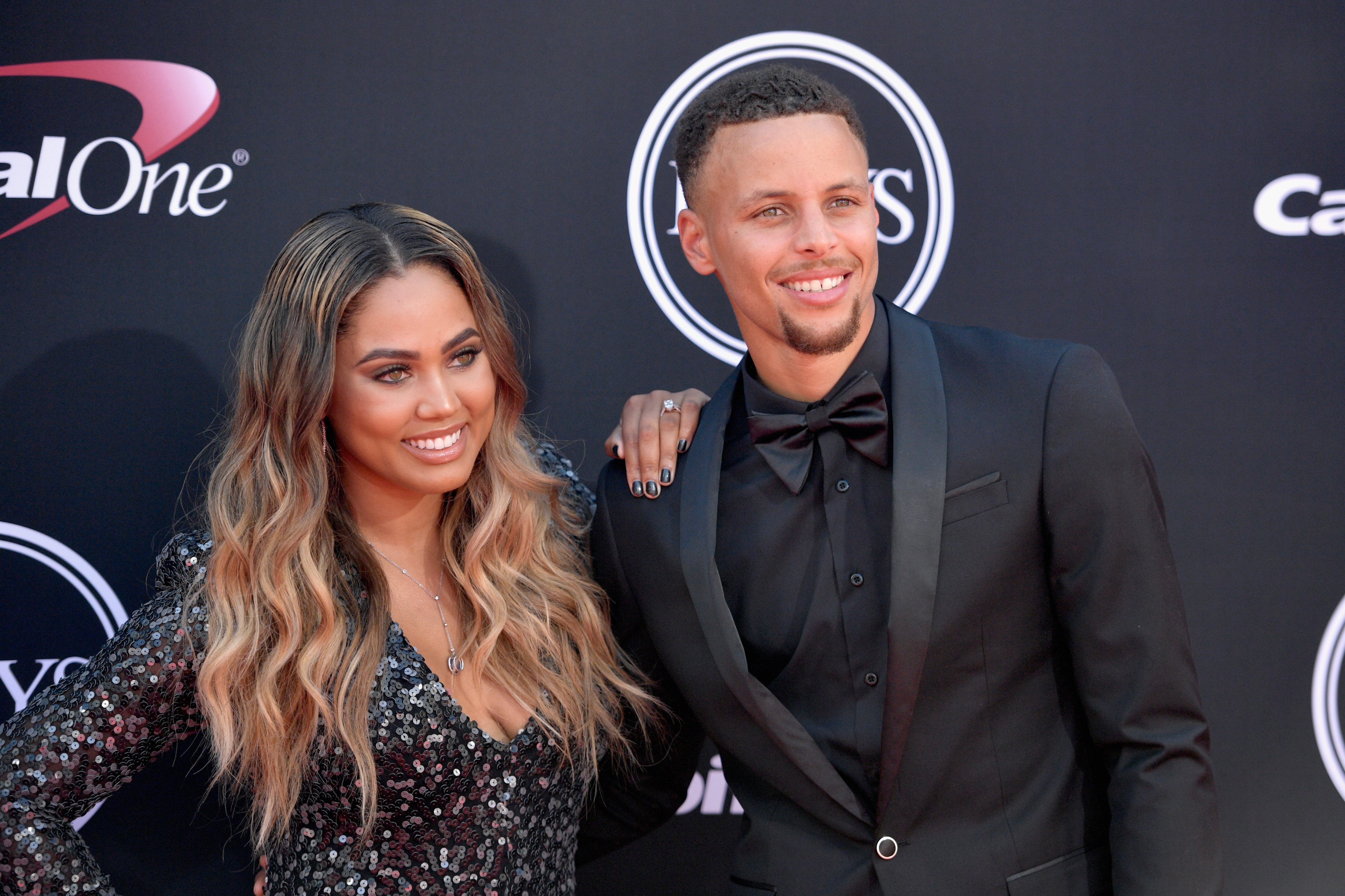 Ayesha Curry-Stephen Curry