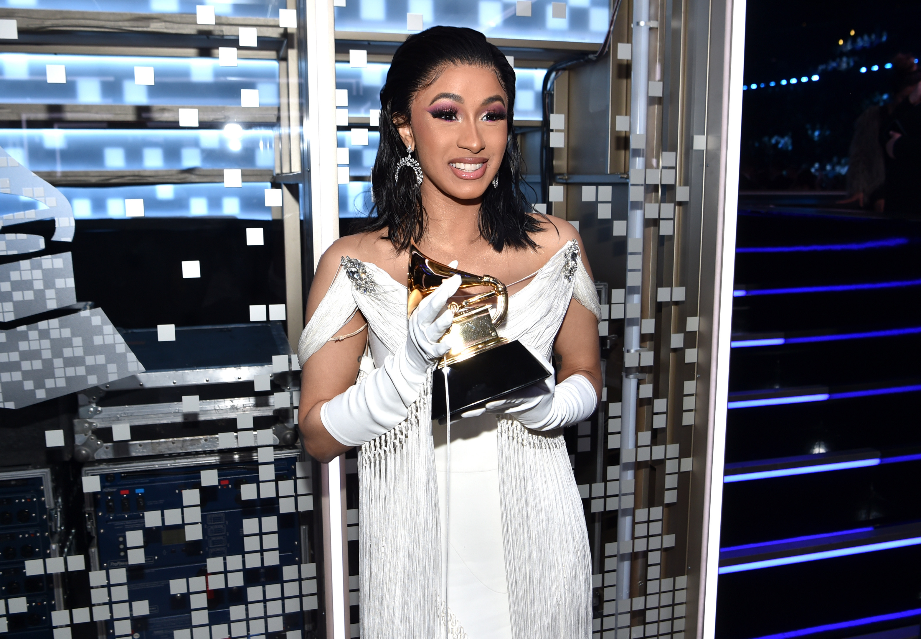 Cardi B Grammys 2019