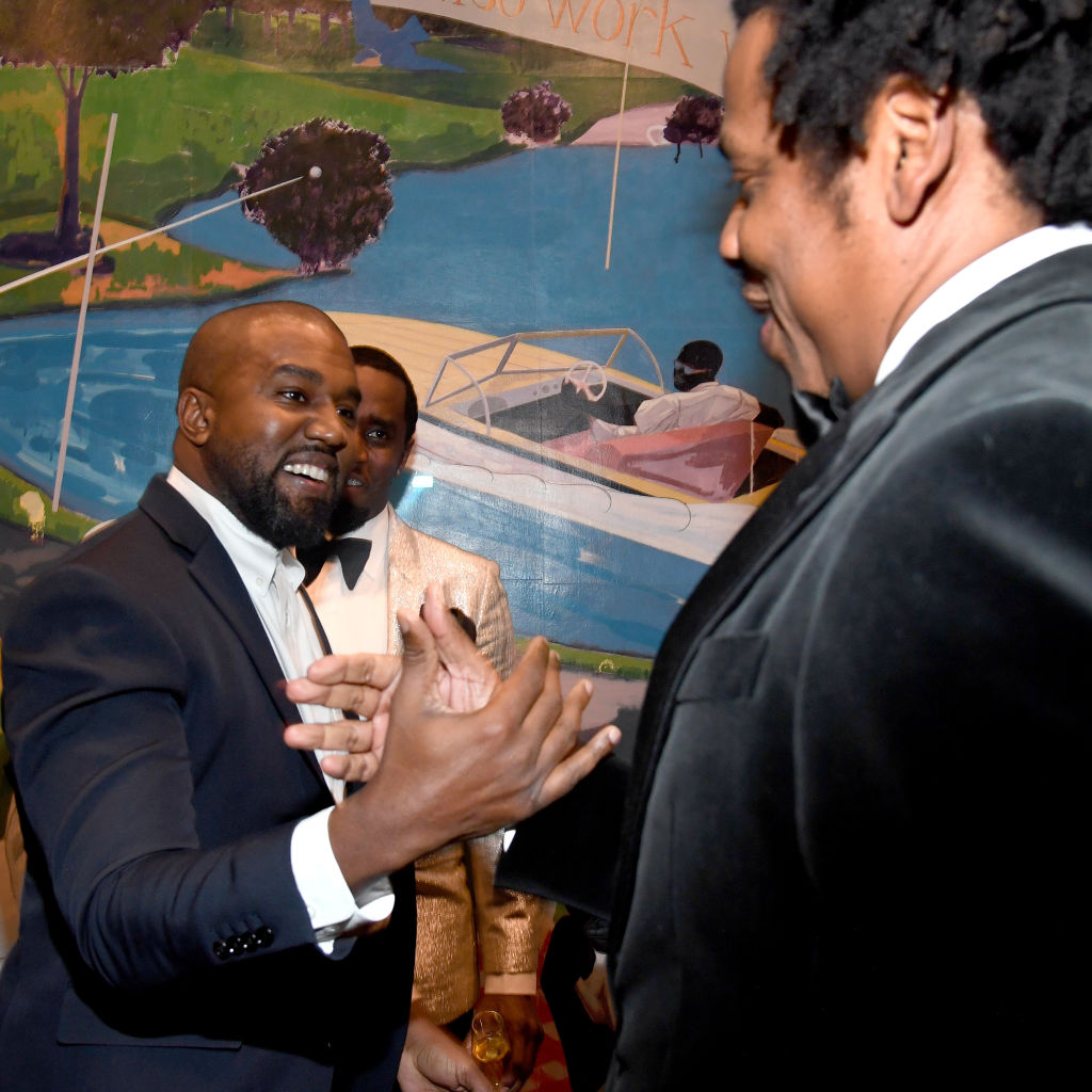 Jay-Z & Kanye West Reunite