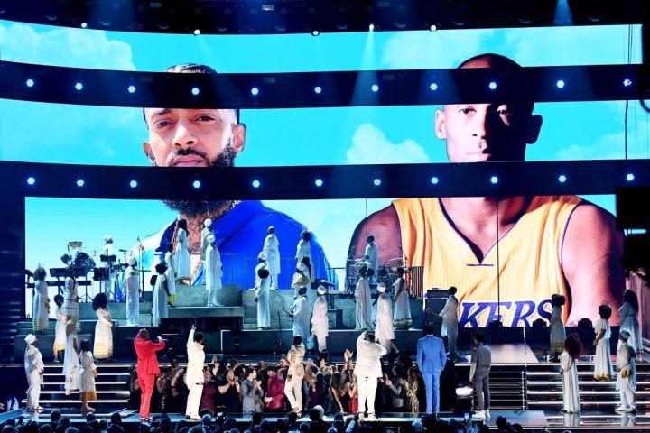 John Legend, Kirk Franklin, DJ Khaled, Meek Mill, and Roddy Ricch