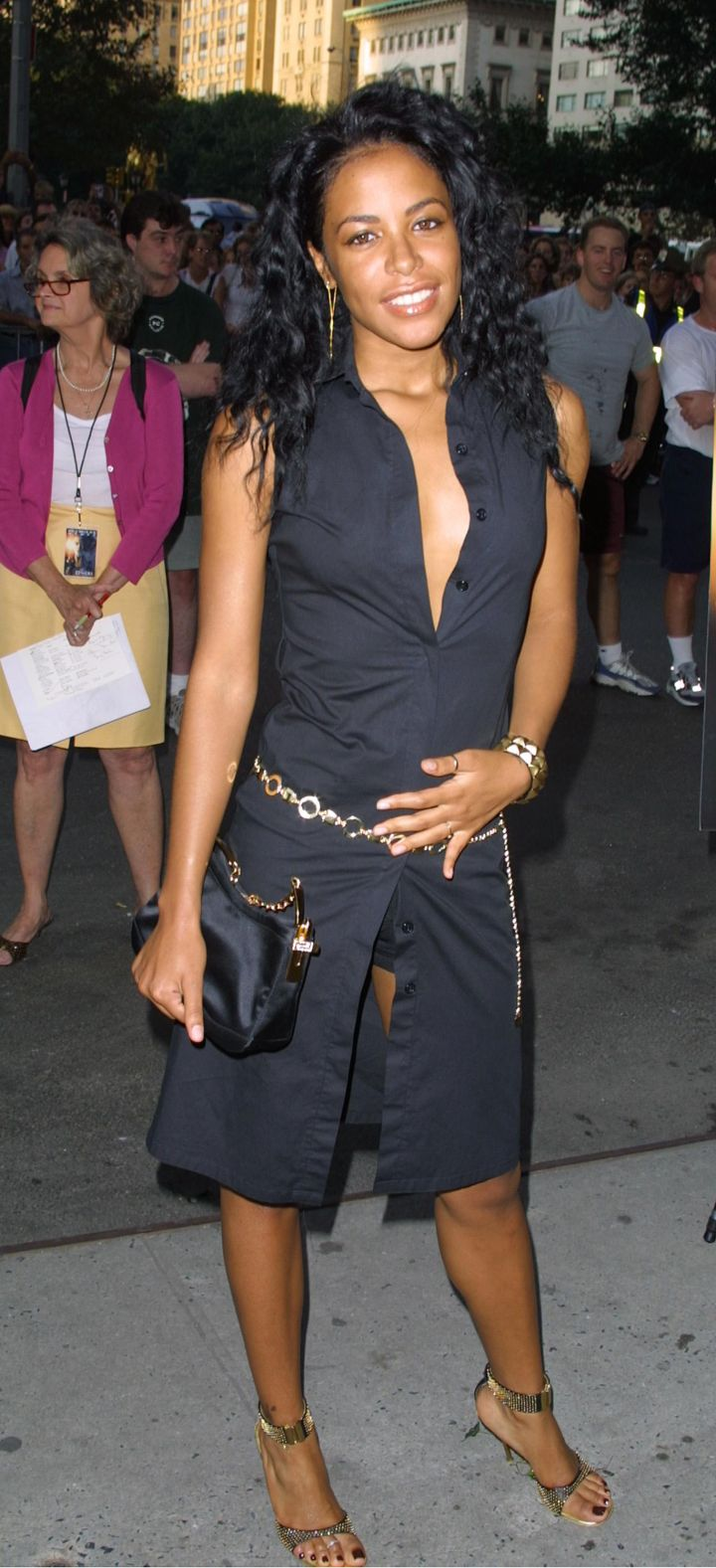 Aaliyah at The Others Premiere, 2001