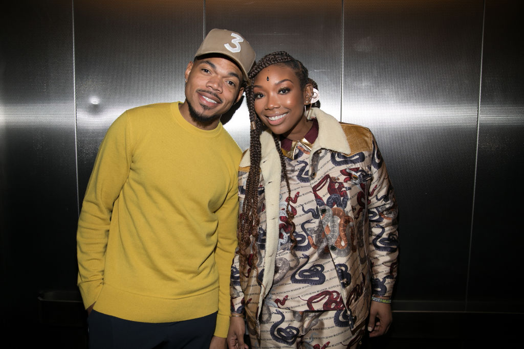 Brandy Norwood and Chance the Rapper at 2019 Urban One Honors - Show