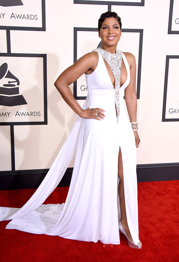 Toni Braxton at The 57th Annual GRAMMY Awards, 2015