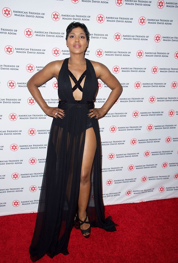 Toni Braxton at the American Friends Of Magen David Adom's Red Star Ball, 2014