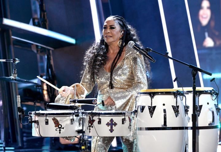 Sheila E. Opened the Show...