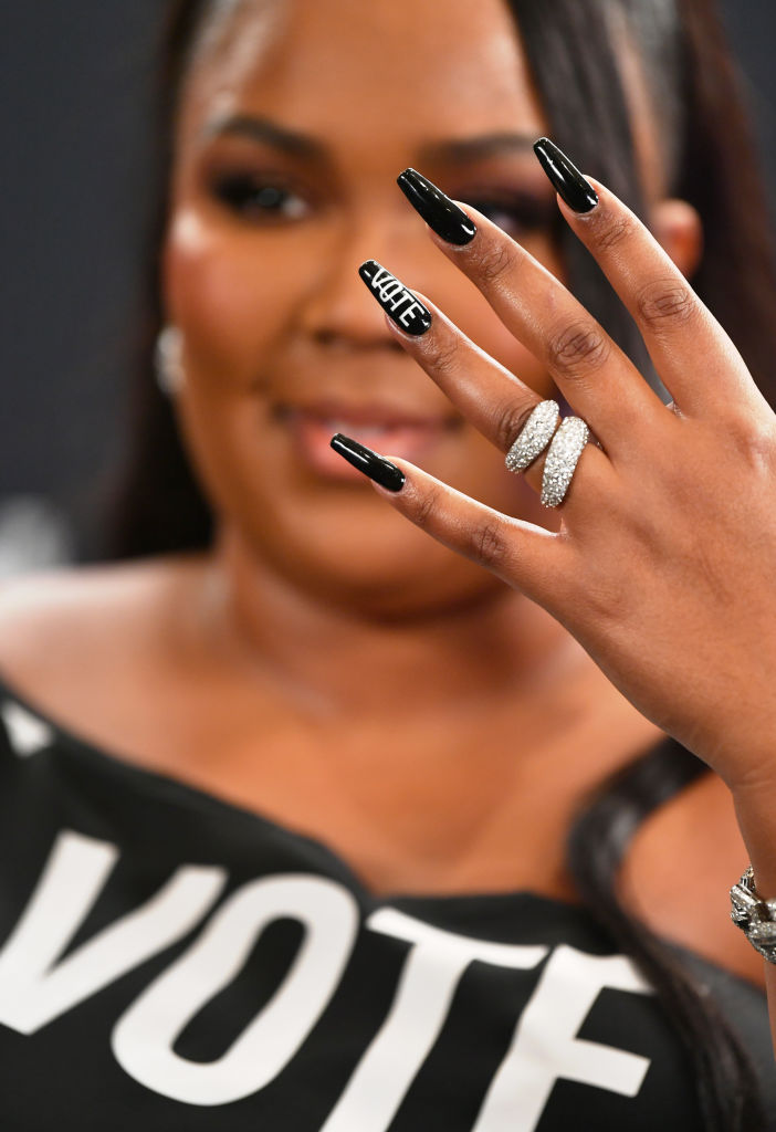 ...And, Lizzo's Nails