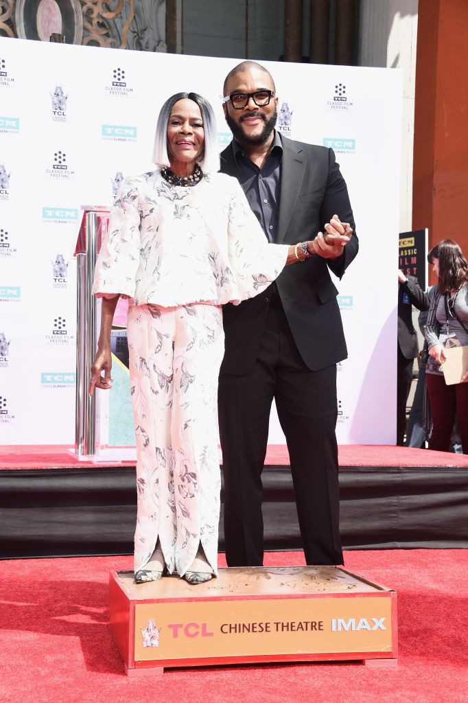 THE TCM HONORS SCREEN LEGEND CICELY TYSON HAND AND FOOTPRINT CEREMONY, 2018