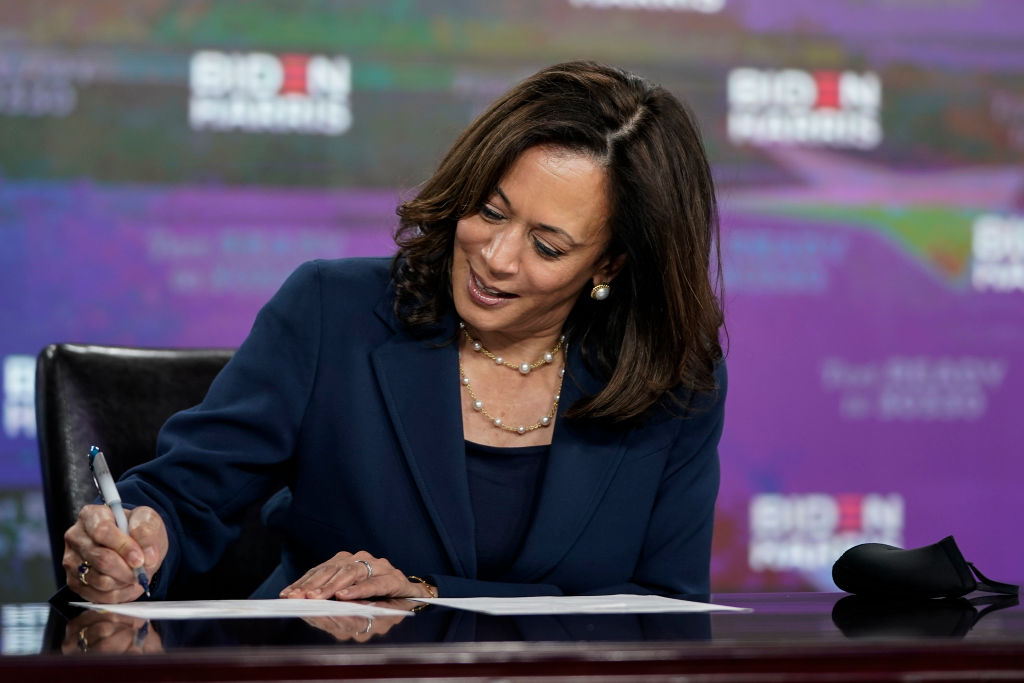 Presidential Candidate Joe Biden And Running Mate Kamala Harris Hold Campaign Event In Delaware