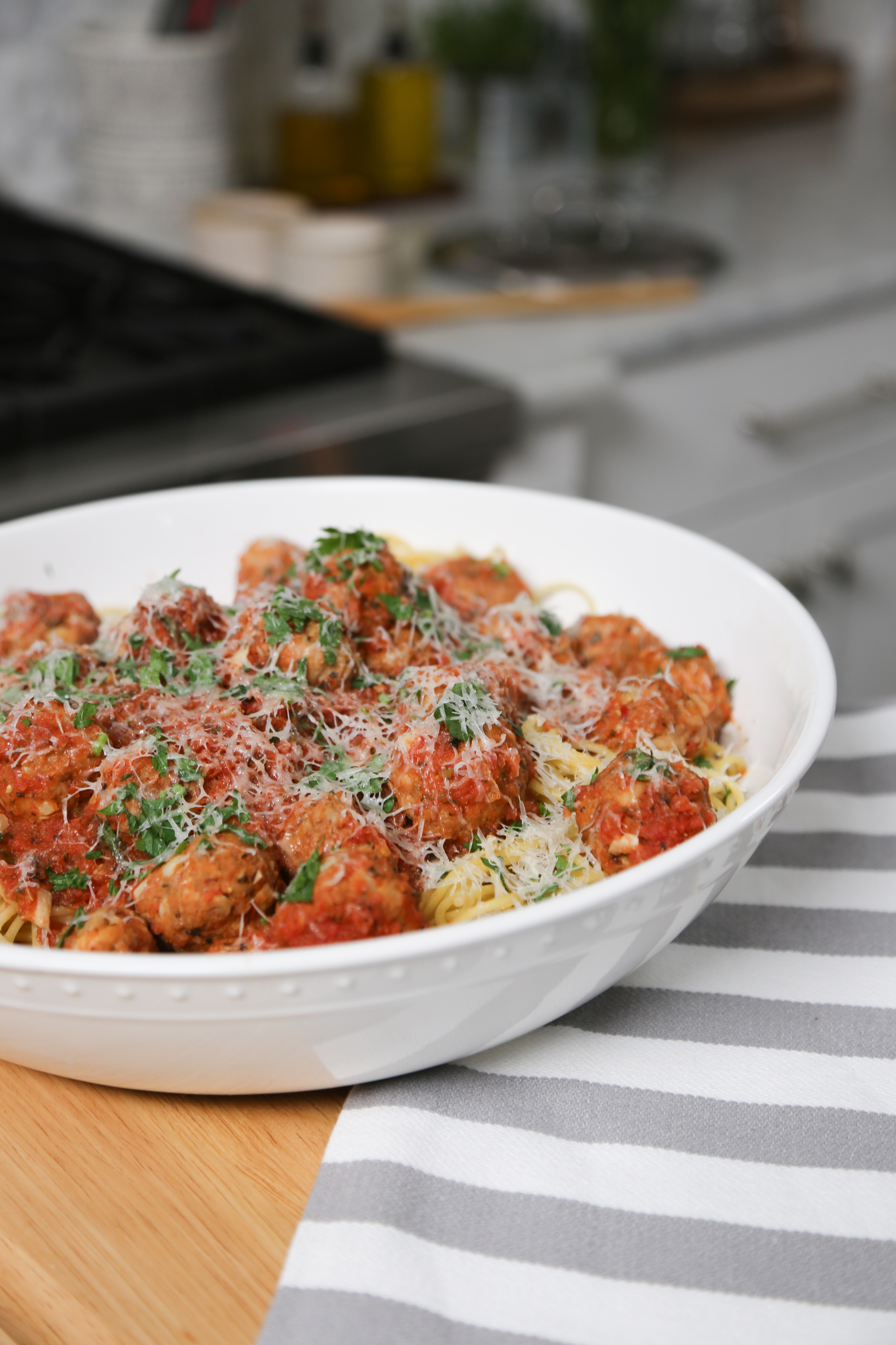 Living By Design 201 Food Photos Pucker Up Pie Spaghetti and Turkey Meatballs