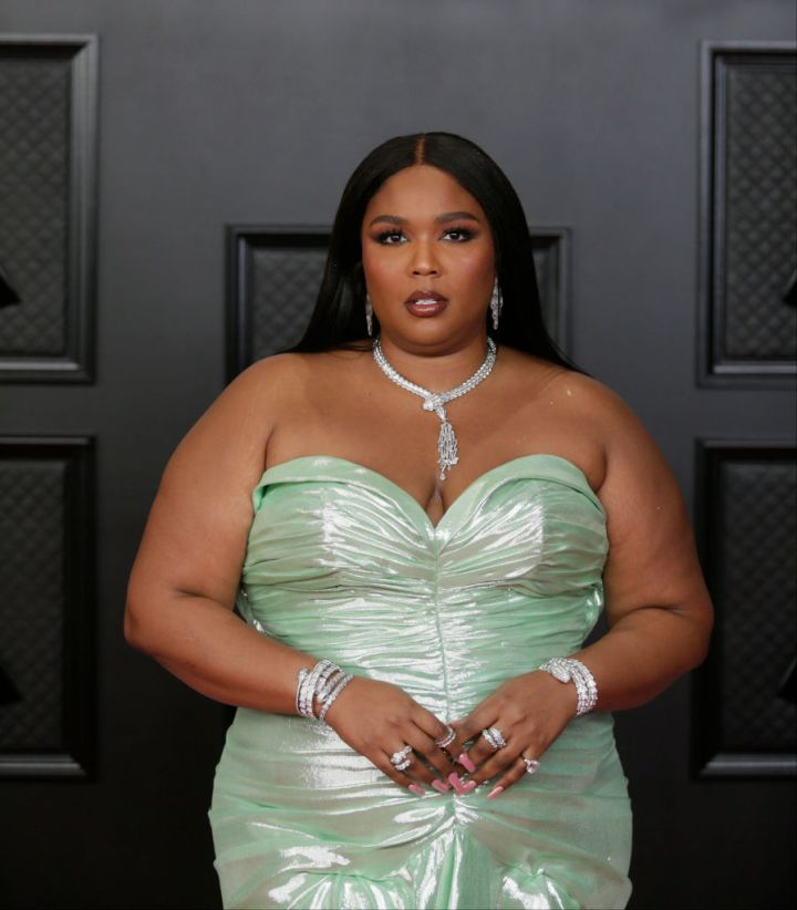 LIZZO AT THE 63RD ANNUAL GRAMMY AWARDS, 2021